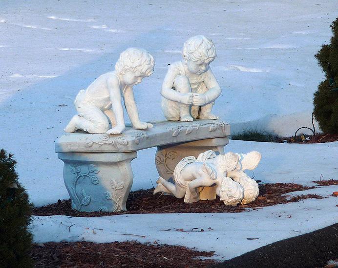 Fallen cherubs