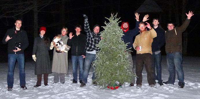 Tree lighting guests