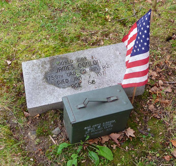 World War I veteran's grave
