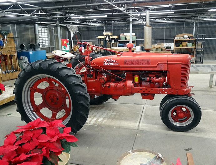 1948 Farmall tractor