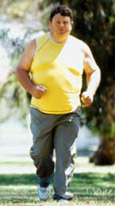 Click to learn the health risks of overweight and obesity.
